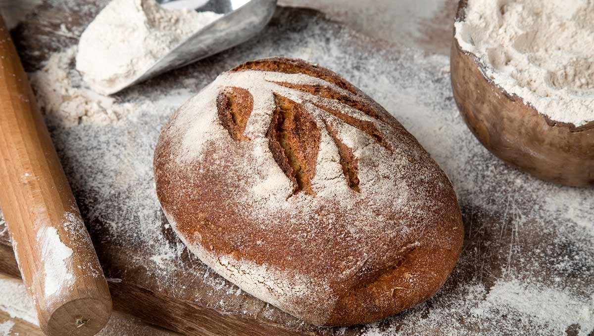 לחם מחמצת מלא