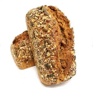 seeds sourdough bread